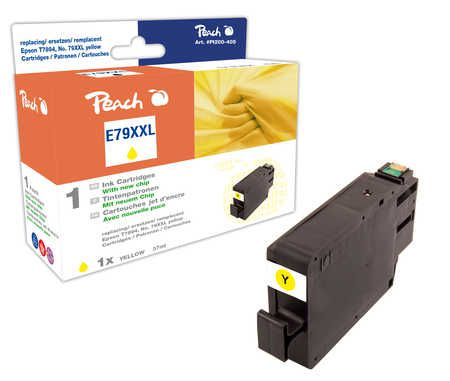 Peach  Ink Cartridge XXL yellow, compatible with ID-Fabricant: No. 79XXL, T7894 Epson WorkForce Pro WF-5110 DW