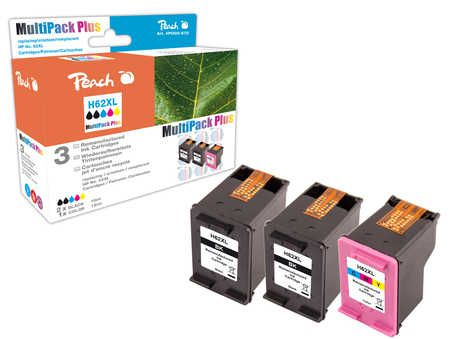 Peach  Multi Pack Plus compatible with ID-Fabricant: No. 62XL, C2P05AE, C2P07AE HP Envy 5661 e-All-in-One