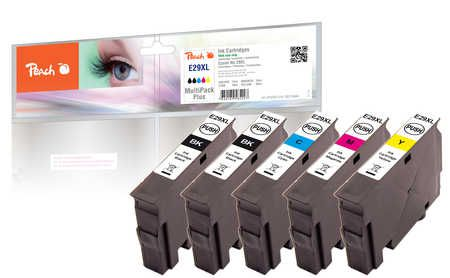 Peach  Multi Pack Plus, XL compatible with ID-Fabricant: No. 29XL, T2996 Epson Expression Home XP-452