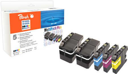 Peach Multipack Plus  compatible avec Brother MFCJ 6520 DW