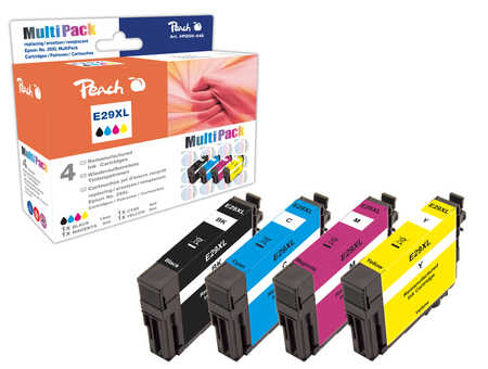 Peach  Multipack compatible avec ID-Fabricant: No. 29XL, T2996 Epson Expression Home XP-452