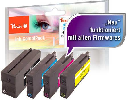 Peach  Combi Pack compatible with ID-Fabricant: No. 950, No. 951 HP OfficeJet Pro 251 dw