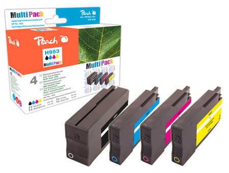Peach  Combi Pack compatible avec ID-Fabricant: No. 953 HP OfficeJet Pro 7720
