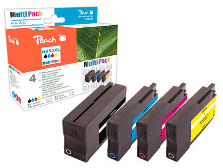 Peach  Combi Pack compatible avec ID-Fabricant: No. 953XL HP OfficeJet Pro 7720