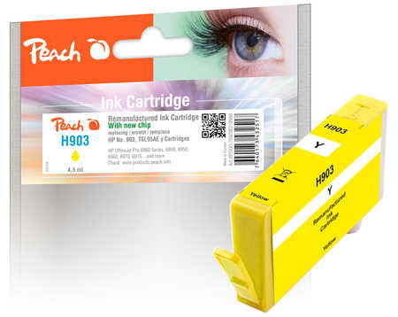 Peach  Ink Cartridge yellow compatible with ID-Fabricant: No. 903, T6L95AE HP OfficeJet Pro 6975